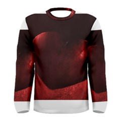 Red Heart Men s Long Sleeve T Shirts