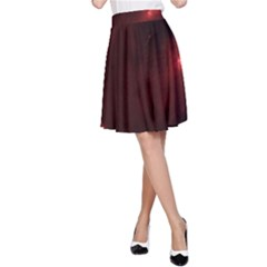 Red Heart A-Line Skirts