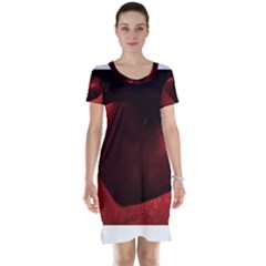 Red Heart Short Sleeve Nightdresses