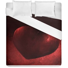 Red Heart Duvet Cover (double Size)