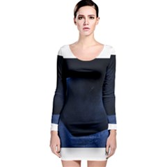 Blue Heart Collection Long Sleeve Bodycon Dresses