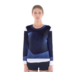 Blue Heart Collection Women s Long Sleeve T Shirts