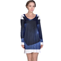 Blue Heart Collection Long Sleeve Nightdresses