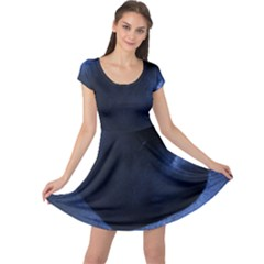 Blue Heart Collection Cap Sleeve Dresses