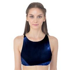 Blue Heart Collection Tank Bikini Top