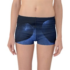 Blue Heart Collection Reversible Boyleg Bikini Bottoms
