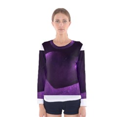 Purple Heart Collection Women s Long Sleeve T Shirts