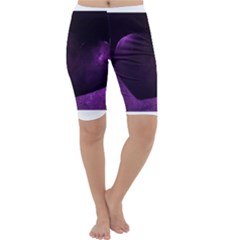 Purple Heart Collection Cropped Leggings