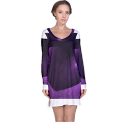 Purple Heart Collection Long Sleeve Nightdresses