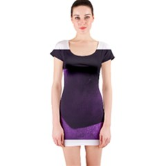 Purple Heart Collection Short Sleeve Bodycon Dresses
