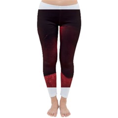 Red Heart Winter Leggings