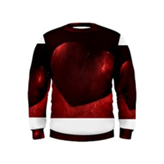 Red Heart Boys  Sweatshirts