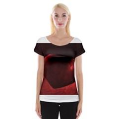 Red Heart Women s Cap Sleeve Top