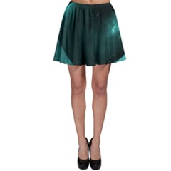 Teal Heart Skater Skirts