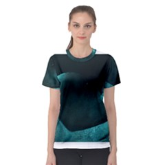 Teal Heart Women s Sport Mesh Tees
