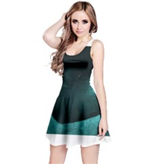 Teal Heart Reversible Sleeveless Dresses