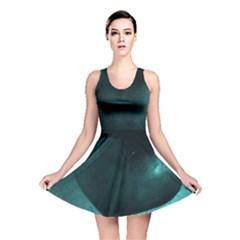 Teal Heart Reversible Skater Dresses