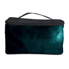 Teal Heart Cosmetic Storage Cases