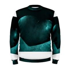 Teal Heart Men s Sweatshirts