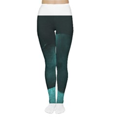 Teal Heart Women s Tights