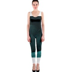Teal Heart OnePiece Catsuits