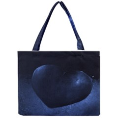 Blue Heart Collection Tiny Tote Bags