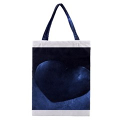 Blue Heart Collection Classic Tote Bags