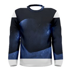 Blue Heart Collection Men s Long Sleeve T Shirts