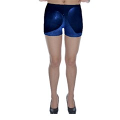 Blue Heart Collection Skinny Shorts