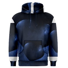 Blue Heart Collection Men s Pullover Hoodies