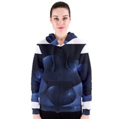 Blue Heart Collection Women s Zipper Hoodies