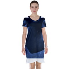 Blue Heart Collection Short Sleeve Nightdresses