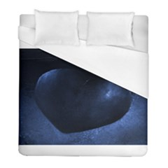 Blue Heart Collection Duvet Cover Single Side (twin Size)