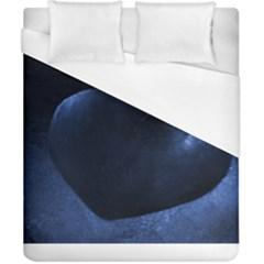 Blue Heart Collection Duvet Cover Single Side (double Size)