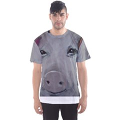 Piggy No  1 Men s Sport Mesh Tees
