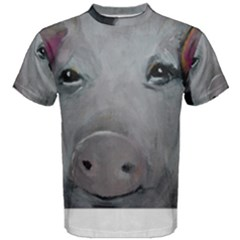 Piggy No. 1 Men s Cotton Tees