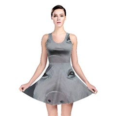 Piggy No  1 Reversible Skater Dresses