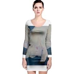 Piggy No  2 Long Sleeve Bodycon Dresses