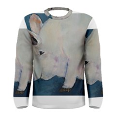 Piggy No. 2 Men s Long Sleeve T-shirts