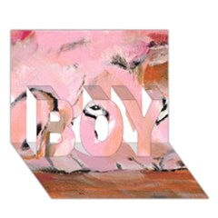 Piggy No.3 BOY 3D Greeting Card (7x5)