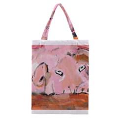 Piggy No.3 Classic Tote Bags