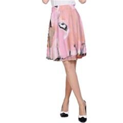Piggy No.3 A-Line Skirts