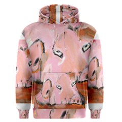 Piggy No 3 Men s Pullover Hoodies