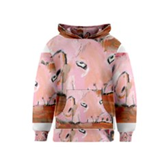 Piggy No.3 Kid s Pullover Hoodies