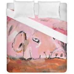 Piggy No 3 Duvet Cover (double Size)