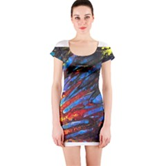 The Looking Glas Short Sleeve Bodycon Dresses