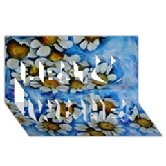 Floating On Air Best Wish 3d Greeting Card (8x4)