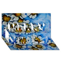 Floating on Air Merry Xmas 3D Greeting Card (8x4)