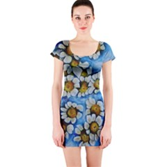Floating On Air Short Sleeve Bodycon Dresses