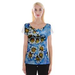 Floating On Air Women s Cap Sleeve Top